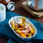 Rosmarin- und Süßkartoffelpommes