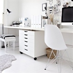 Siyah Beyaz Ofis Dekorasyonu Örnekleri
