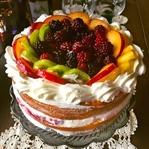 Taze Meyveli Pasta