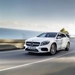 Yeni Mercedes GLA Detroit Fuarı'nda Sahne Aldı