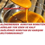 ALZHEİMERIN KORUNMANIN YOLU ZERDEÇAL