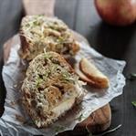 Apfel-Käse-Panini
