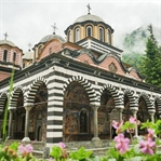 Beeindruckendes Rila Kloster in Bulgarien