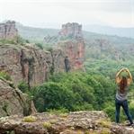 Belogradtschik: skurrile Felsen um eine Burg