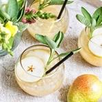 Birnen Salbei Drink