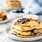 Blueberry Peanut Butter Pancakes