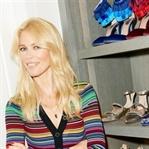 Claudia Schiffer Ayakkabı Koleksiyonunu Sunar