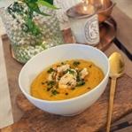 Food: Süßkartoffelsuppe - einfach-gesund-lecker