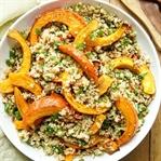 Gerösteter Hokkaido-Kürbis auf Quinoa-Salat
