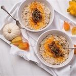 Herbstlicher Kürbis Porridge