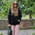 Hoodie and culottes