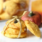 Kürbis Cookies mit weißer Schokolade&Kürbiskernen