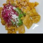 Kürbisgnocchi mit Pesto