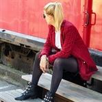Outfit: Herbstfavoriten: Boots, Samt & Leder