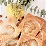 Saftiger Birnenkuchen mit Honigglasur