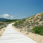 Sanddünen Bulgariens am Ropotamo Fluss