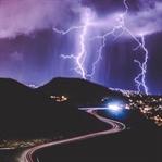 Schlechtes Wetter für Landschaftsfotos nutzten