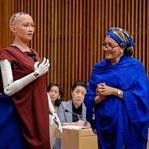 Sophia Birleşmiş Milletler Toplantısında Konuştu