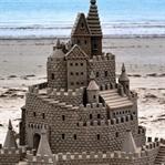 İşte Dünyanın En Güzel Kumdan Kaleleri