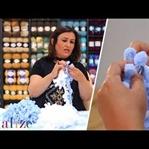 Alize Puffy İpten 1 Günde Battaniye Nasıl Yapılır