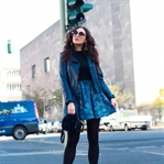 All Blue Fall Style