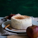 Apfel-Zimt-Torte mit Creme