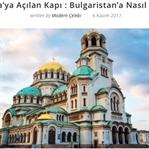 Avrupa'ya Açılan Kapı; Bulgaristan'a Nasıl Gidilir