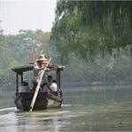 Bei den Fischern im Xixi Wetland Nationalpark