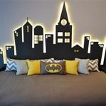 Çocuk Yatak Odalarında Batman ve Prenses