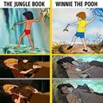 Disney Aynı Çizimleri Farklı filmlerde Kullanmış!