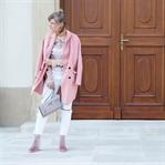 In Ballet Slipper Herbstmantel vom Zara