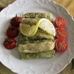 Kestaneli zeytinyağlı lahana sarması tarifi;