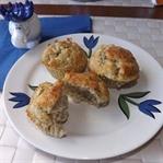 Lezzetli Fesleğenli Tuzlu Muffin Tarifi