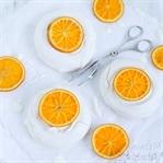 Pavlova mit Earl-Grey-Mascarpone & Orangen
