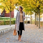 Perfect Plaid Coat for Fall
