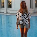 Polka dots and Dionysus bag