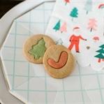 Rezept für bunte Weihnachtskekse aus Mürbteig