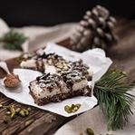 Vegane Kokos Kekse mit Pistazien & Schokolade