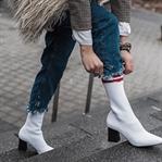 Weiße Stiefel - No Go oder heißer Trend?