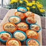 Badem Unlu Mini Muffin