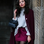 Burgundy Winter Look
