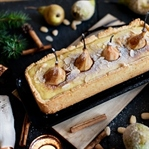 Crostata with Baby Pears