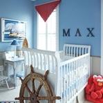 Erkek Bebek Odalarına Harika Dekorasyon Önerileri