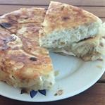 Ev Yufkasıyla Peynirli Tava Böreği Tarifi