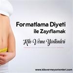 Formatlama diyeti ile vücudunuzu formatlayın.