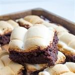 Kaffee Marshmallow Brownies