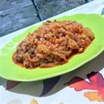 Kıymalı Pirinçli Kapuska