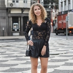 Outfit: Allblack for dinner in Funchal, Madeira
