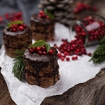 Schoko Lebkuchen Mini Drip Cake