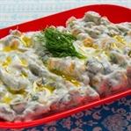 Süzme Yoğurtlu Salata Tarifi